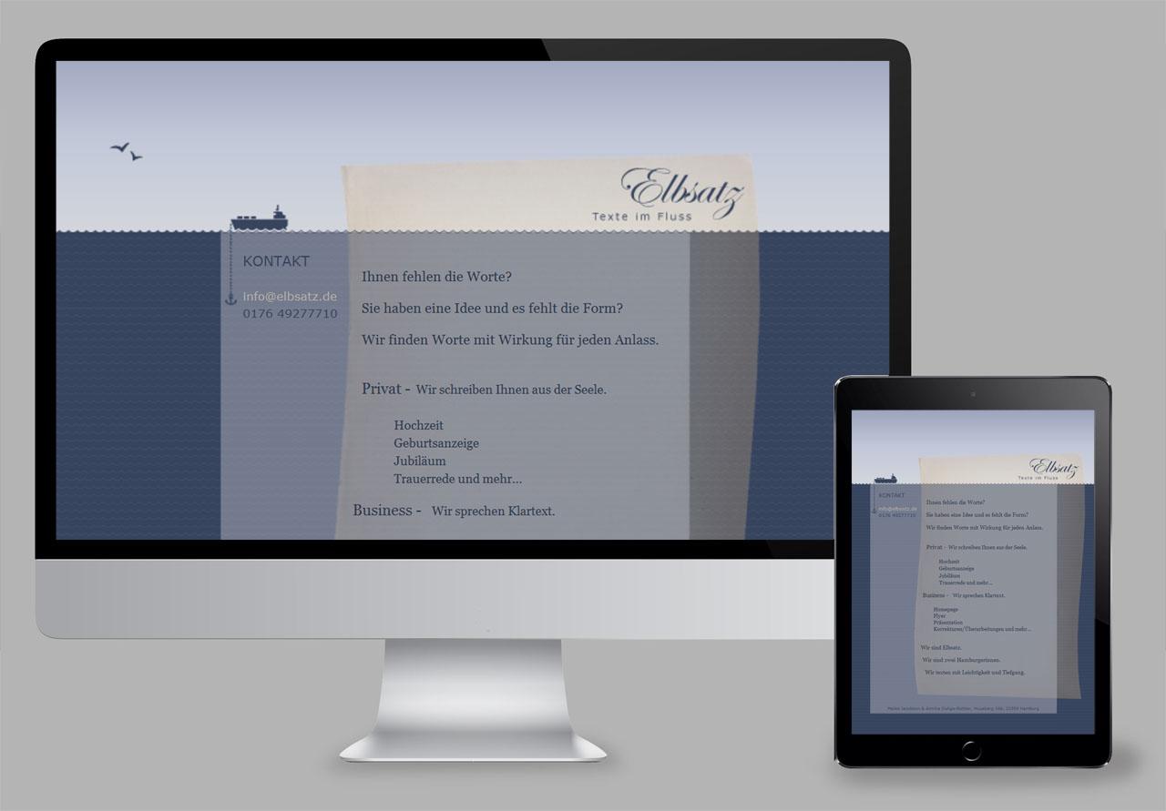 Elbsatz /Website