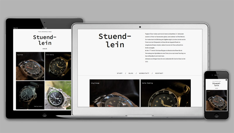 Stündlein Blog /Website
