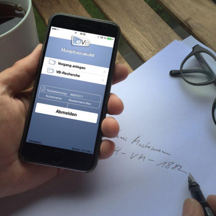 EVB /Smartphoneapp