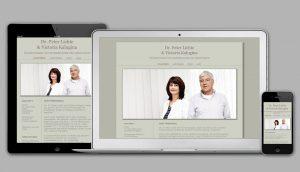 Homepage für eine gynäkologische Praxis