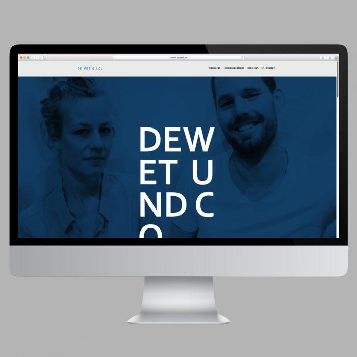 De Wet & Co /Website