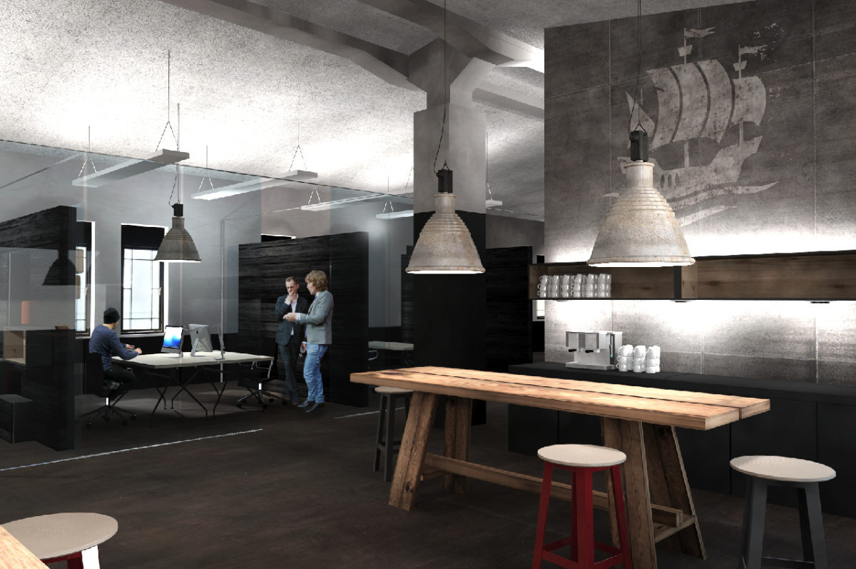 Office-Design Gestaltung der Büroräume