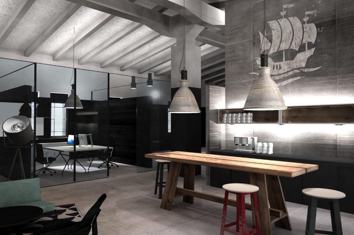 Office-Design Empfangsbereich Büro