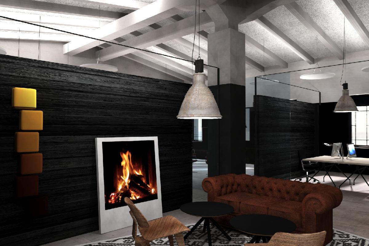 Office-Design Lounge Geschäftsräume