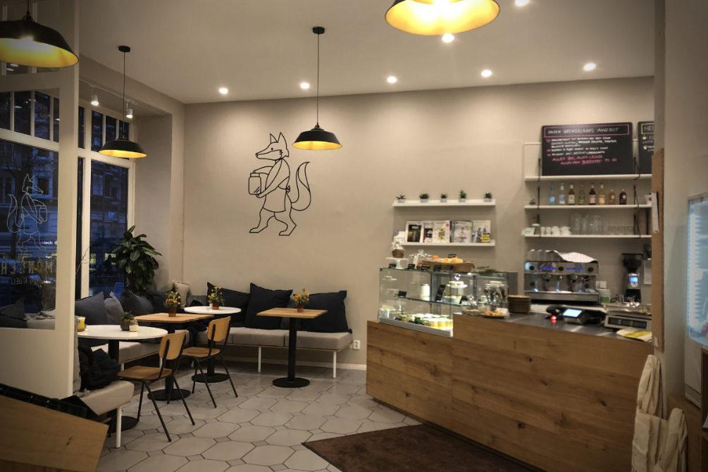 Café-design und Visualisierung für Monger Store in Hamburg