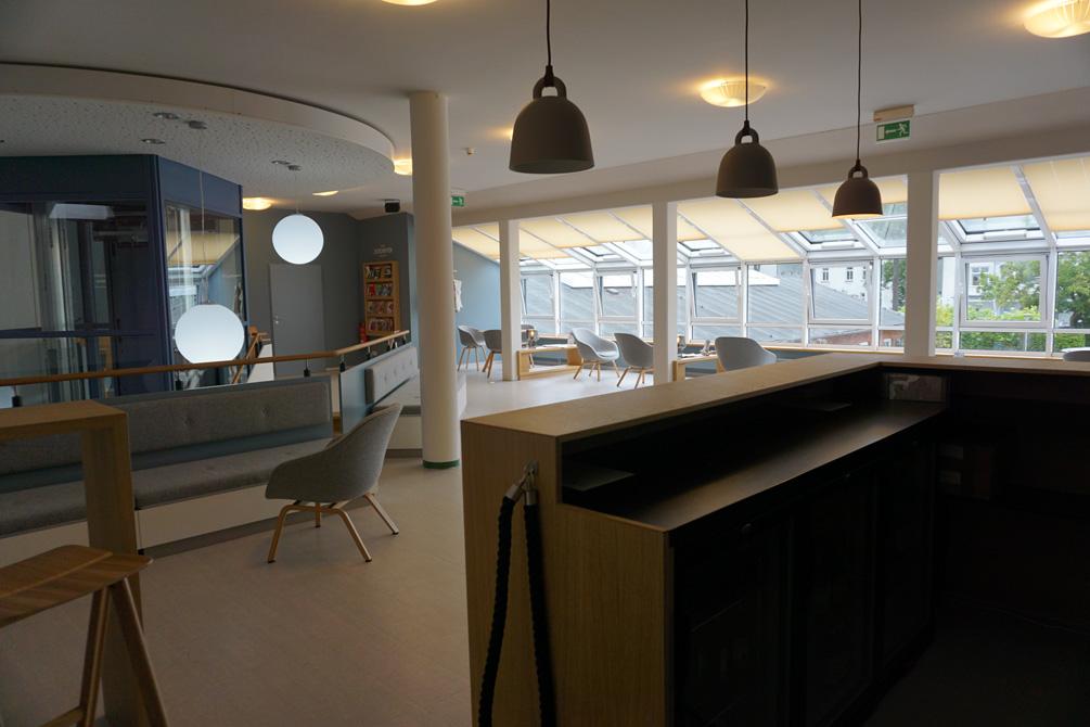 Möbeldesign und Ausstellungsgestaltung der Touristeninformation im Ostseebad Binz