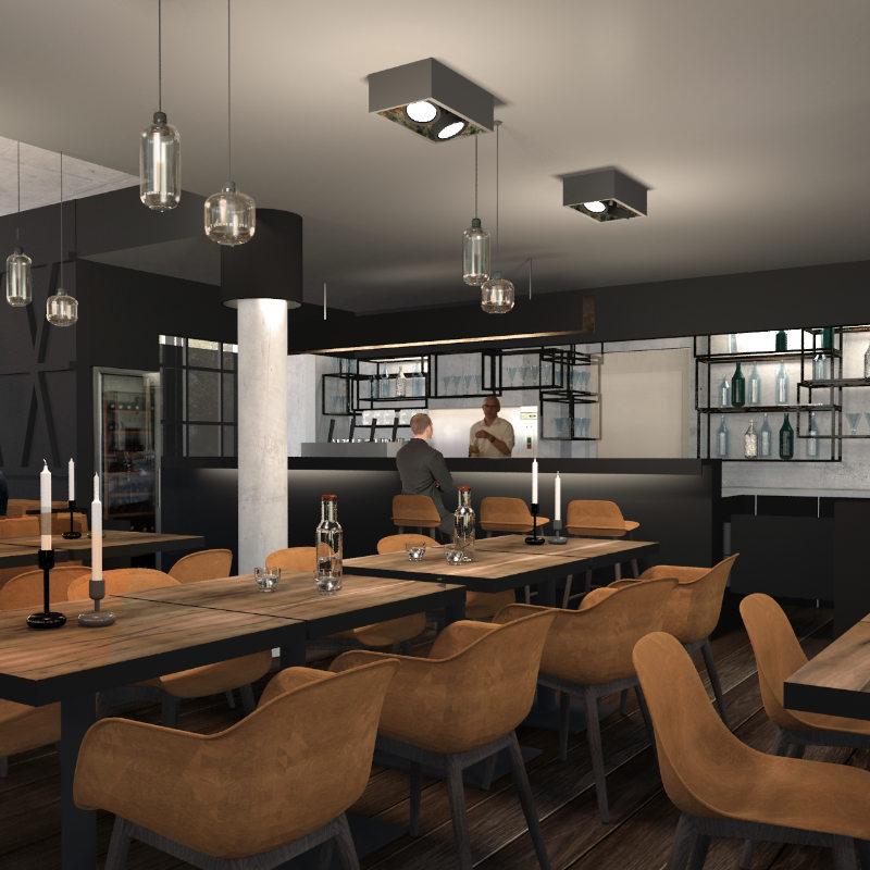 Interior Design Restaurant Fishermans in Berlin