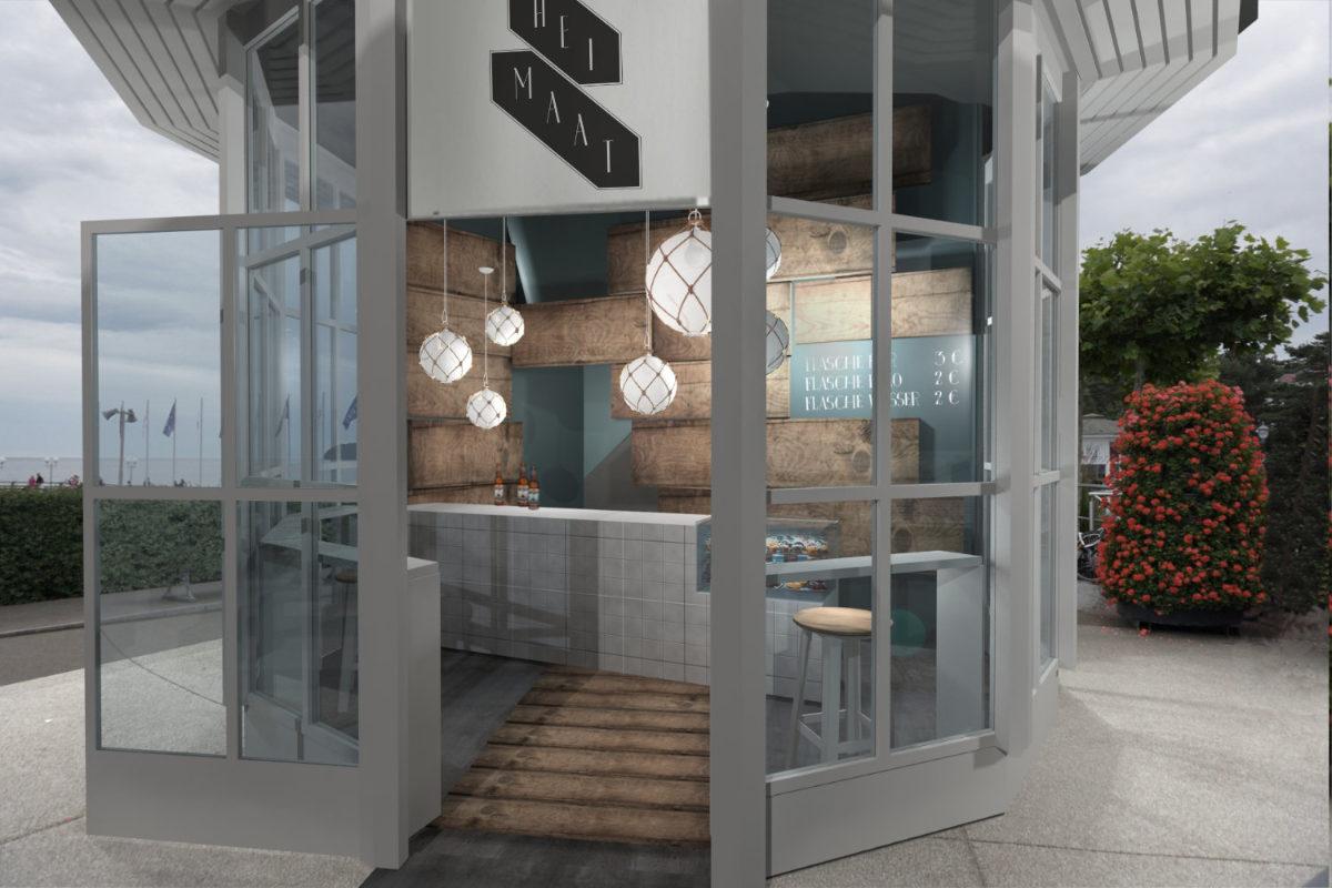 Entwurf Bar Design Gastronomie