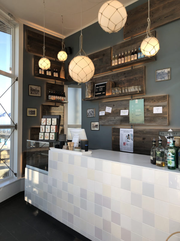 Gastronomie Design - Bar im Pavillon Binz