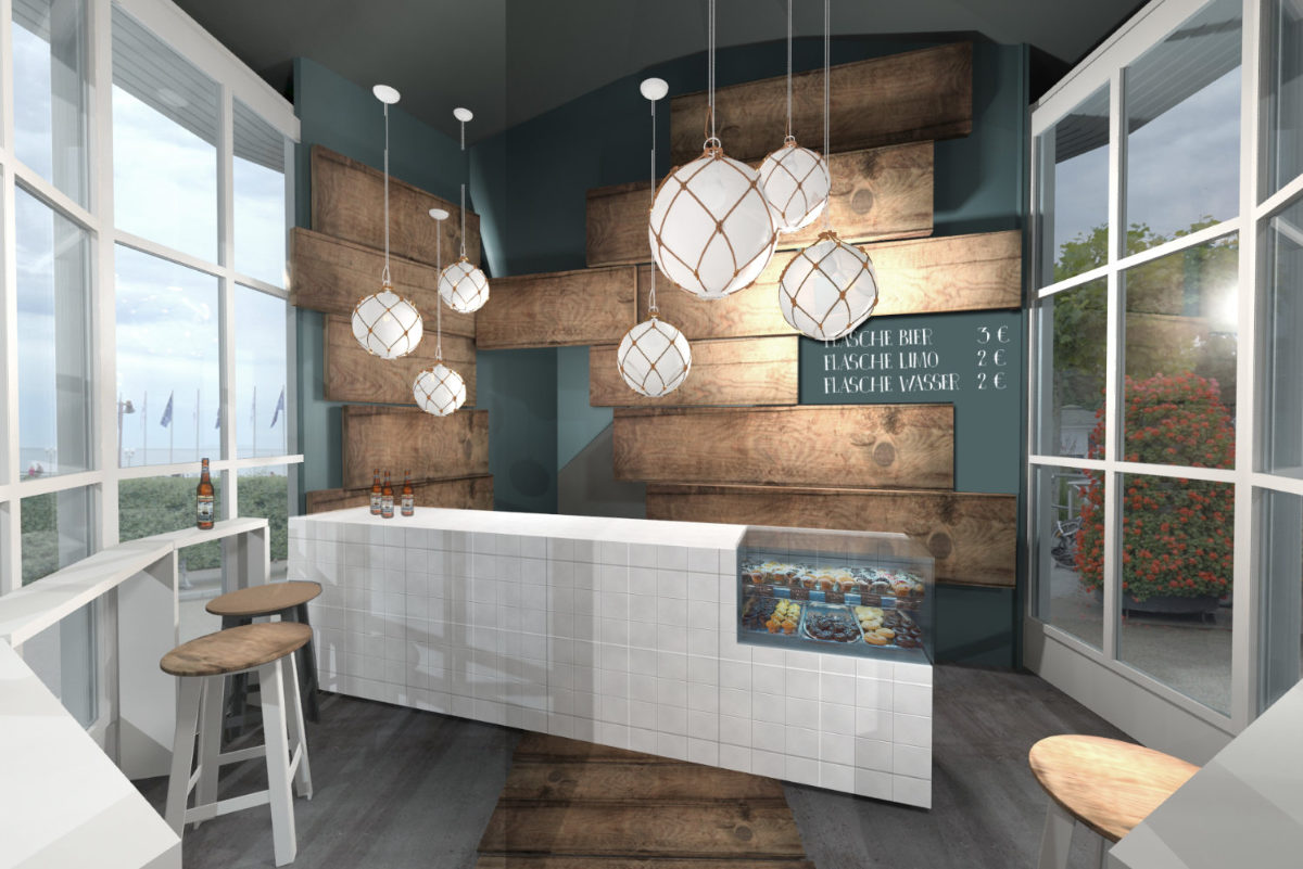 Entwurf Interior-Design Strand Bar