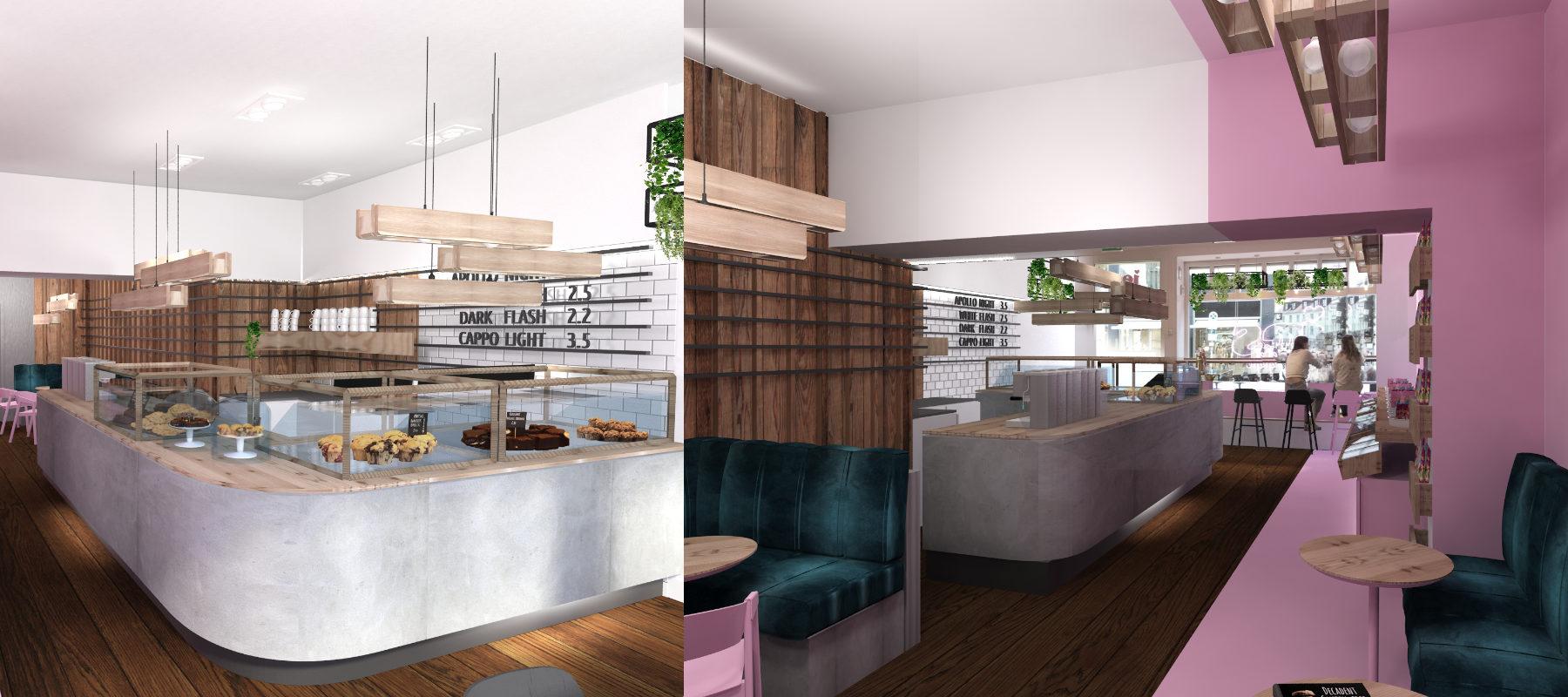 Gastronomie-Design Café