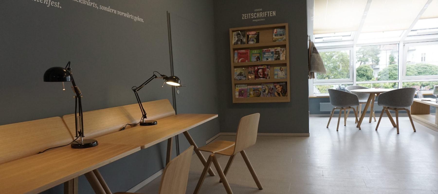 Interior-Design Lounge Ruhebereich