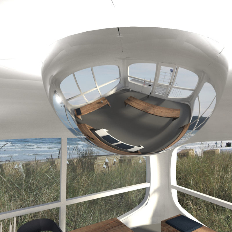 Interior Design für das Standesamt im Rettungsturm