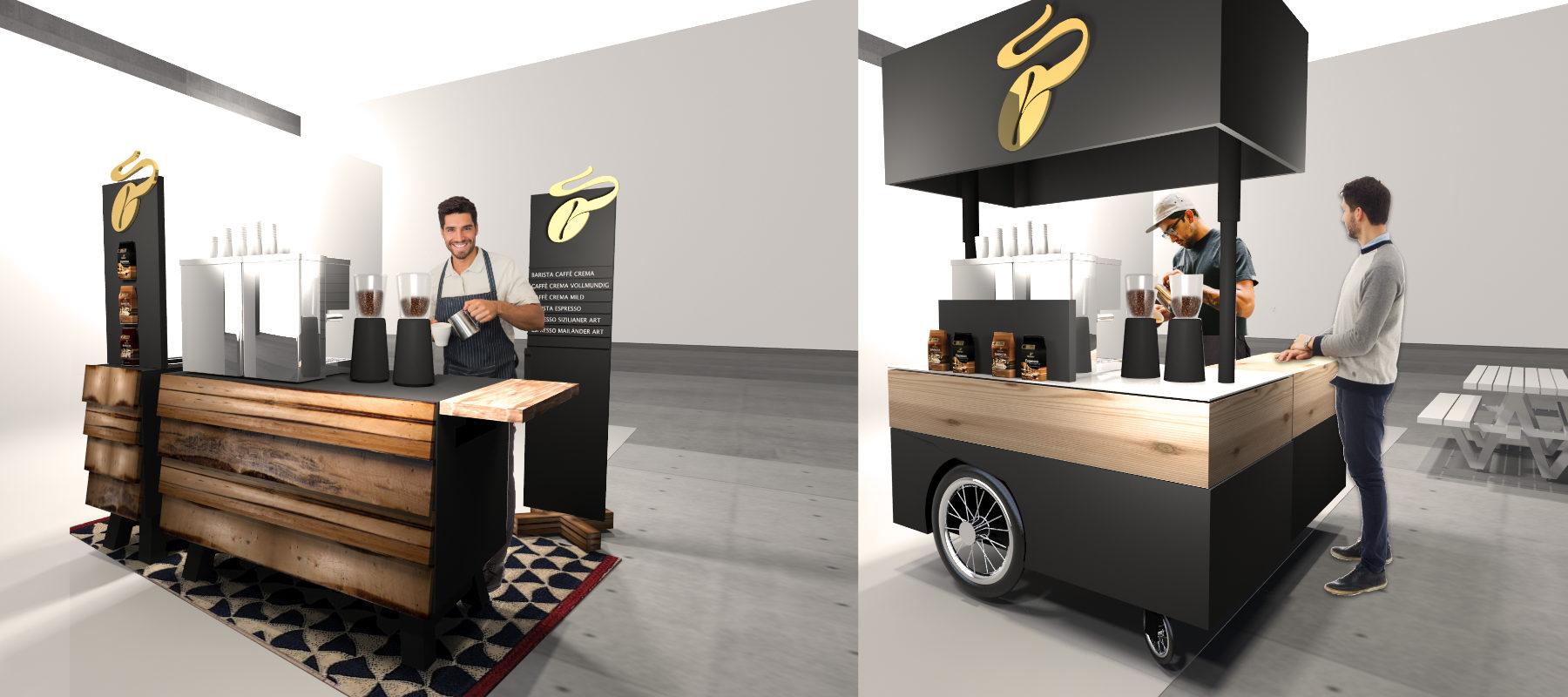 Gastronomie-Design mobile Catering Tresen