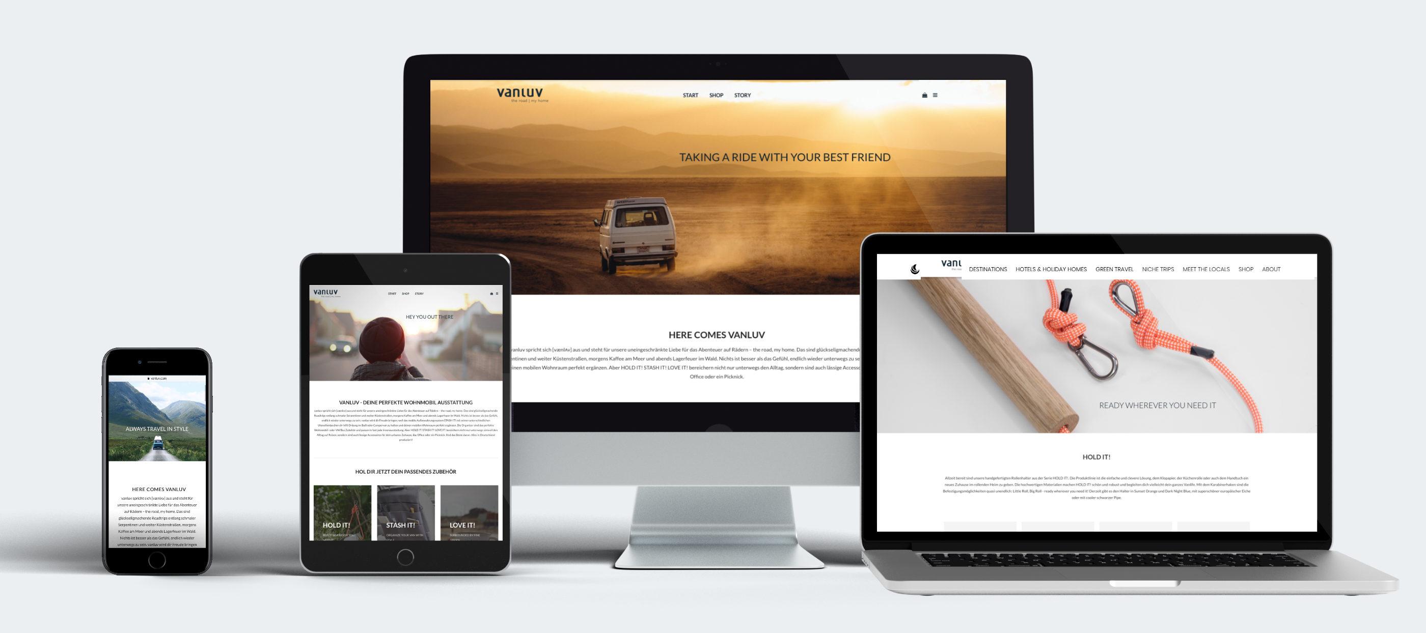 Website-Design WordPress-Webshop