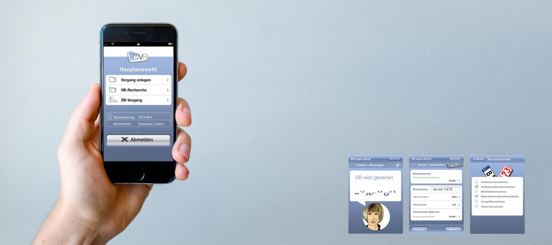 App-Design Interface-Design EVB