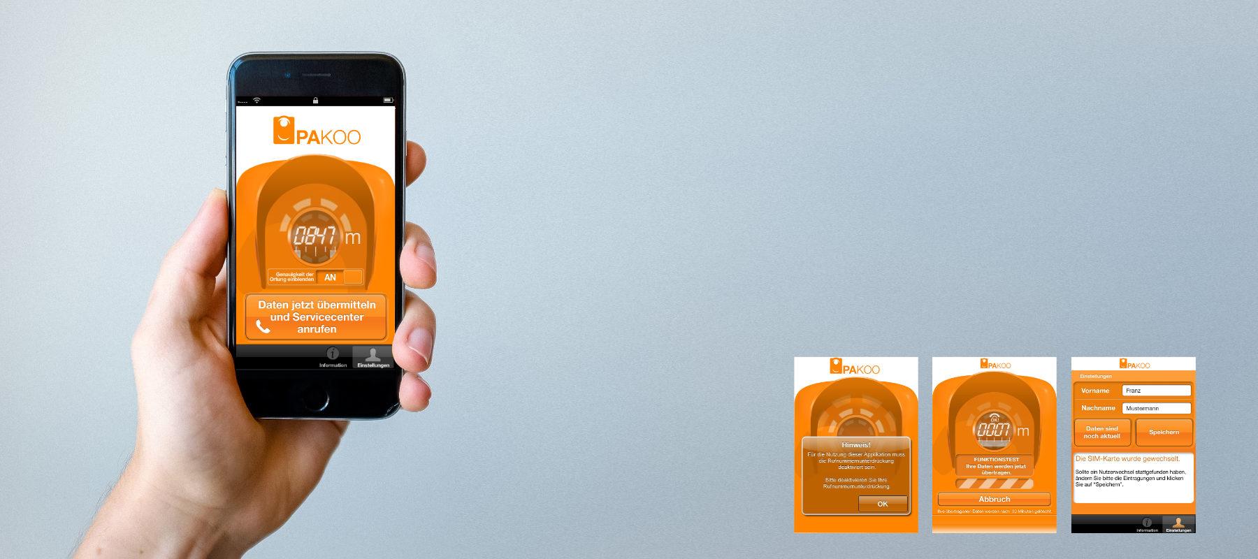 App-Design Interface-Design Pakoo