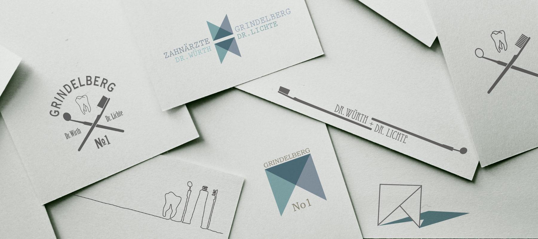 Corporate Design Logo Zahnarzt