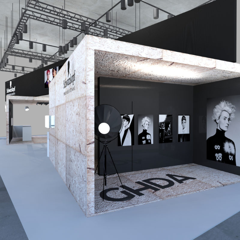 3D-Visualisierung Messestand-Design