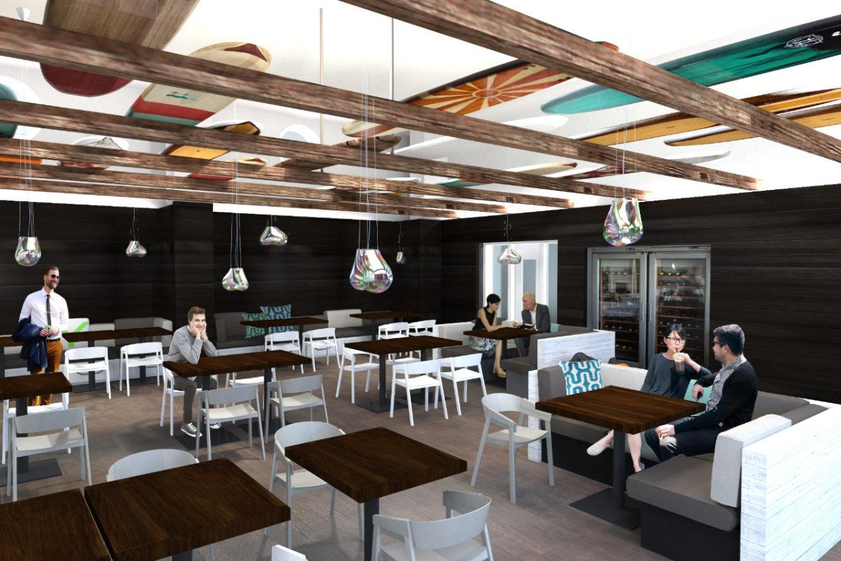 Interiordesign für ein Restaurant am Ostseestrand