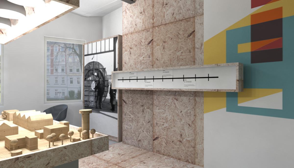 3D-Visualisierung Exhibition-Design
