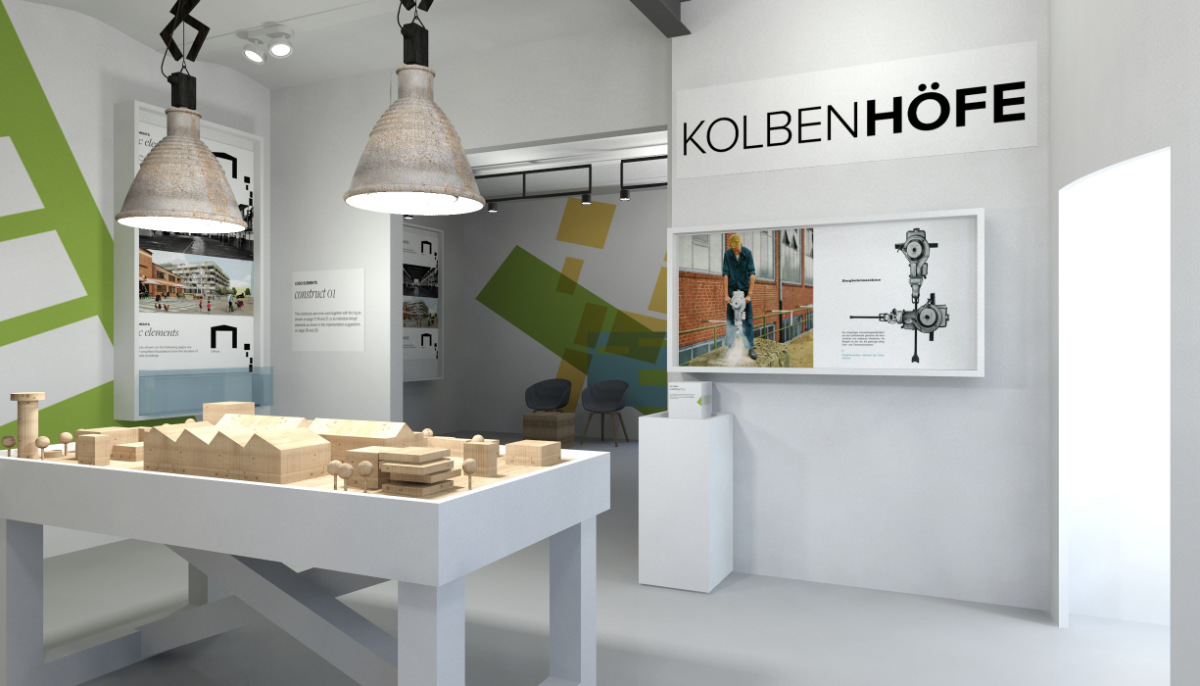 3D-Visualisierung Exhibition-Design
