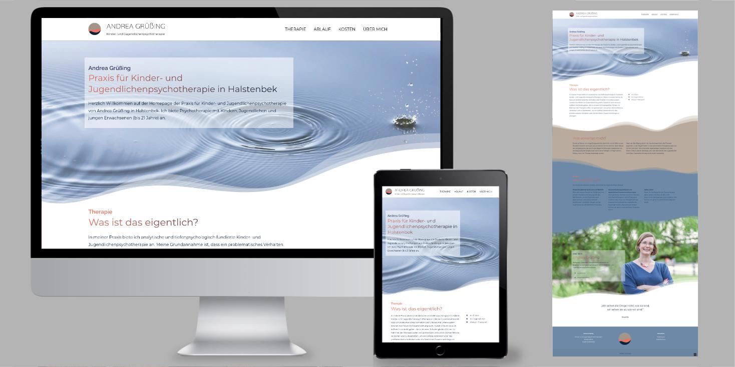 websitedesign fuer eine Arztpraxis in Hambug